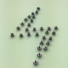 50 pçs/lote g89 tela de 6x6x4.3mm 4pin tátil tact botão interruptor micro direto plug-in auto-reset dip top cobre frete grátis