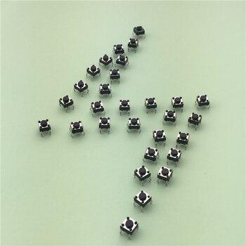 50pcs lot 6x6x4 3mm 4pin g89 tactile tact push button micro switch direct plug in self.jpg 350x350