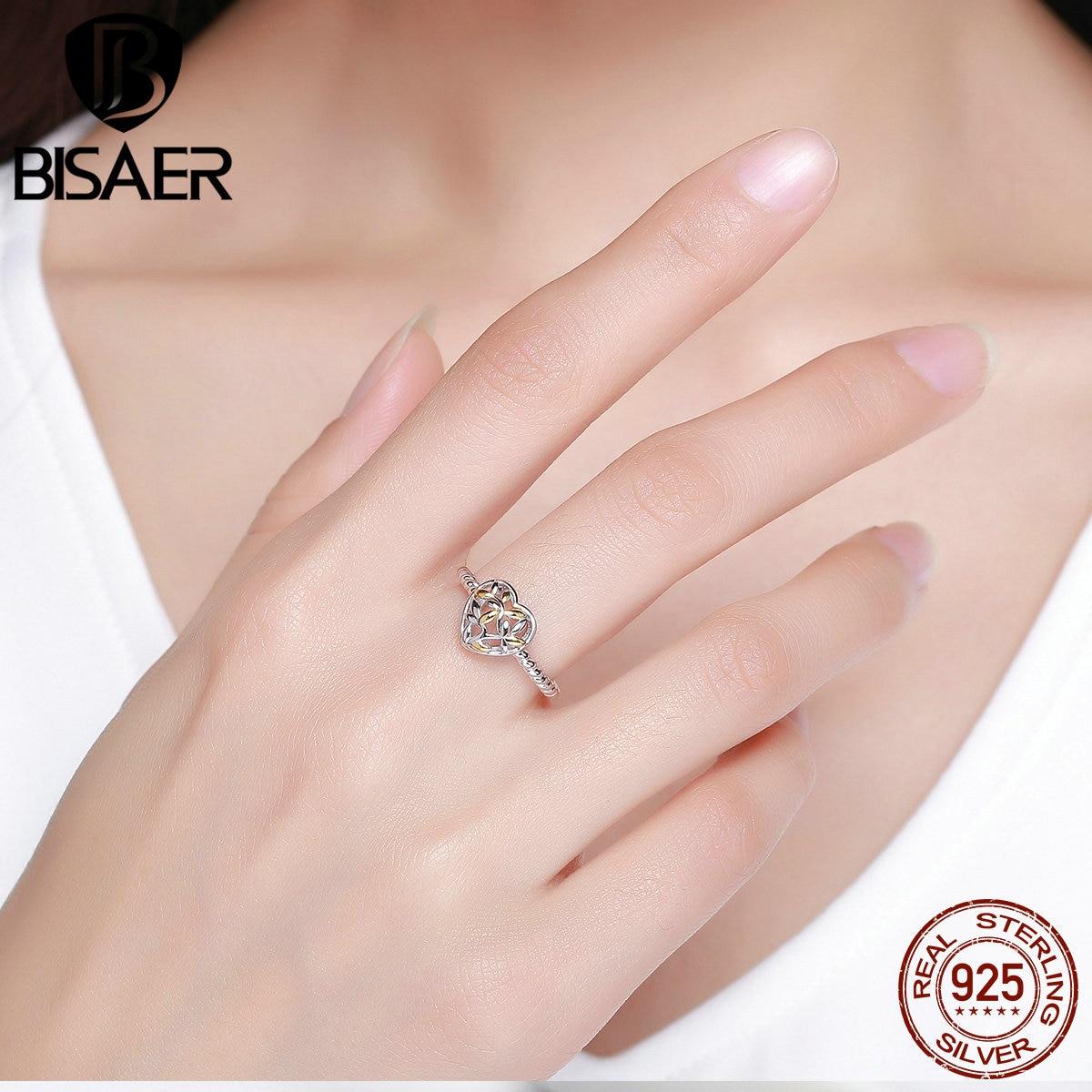 Brand New 100% 925 Sterling Silver Tree of Life Love Heart Finger ...