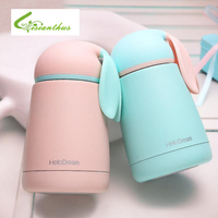 Thermos Children Cute Rabbit Vacuum Flasks 300ml Stainless Steel Travel Mug Tea Coffee Insulation Cup Women