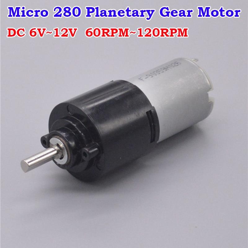 DC 3V 6V 9V 90RPM Micro Gearbox Gear Motor Speed Reduction Motor Robot Car DIY