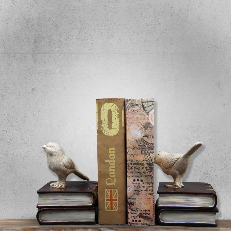 Nordic домашний интерьер орнамент Творческий Смола Craft птиц форзацы ручной работы роск ...