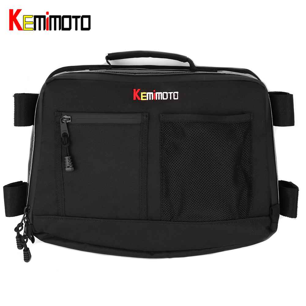 KEMiMOTO For Can Am Commander Maverick X3 UTV Bag Over head Roof tent Bag Overhead Storage Bag