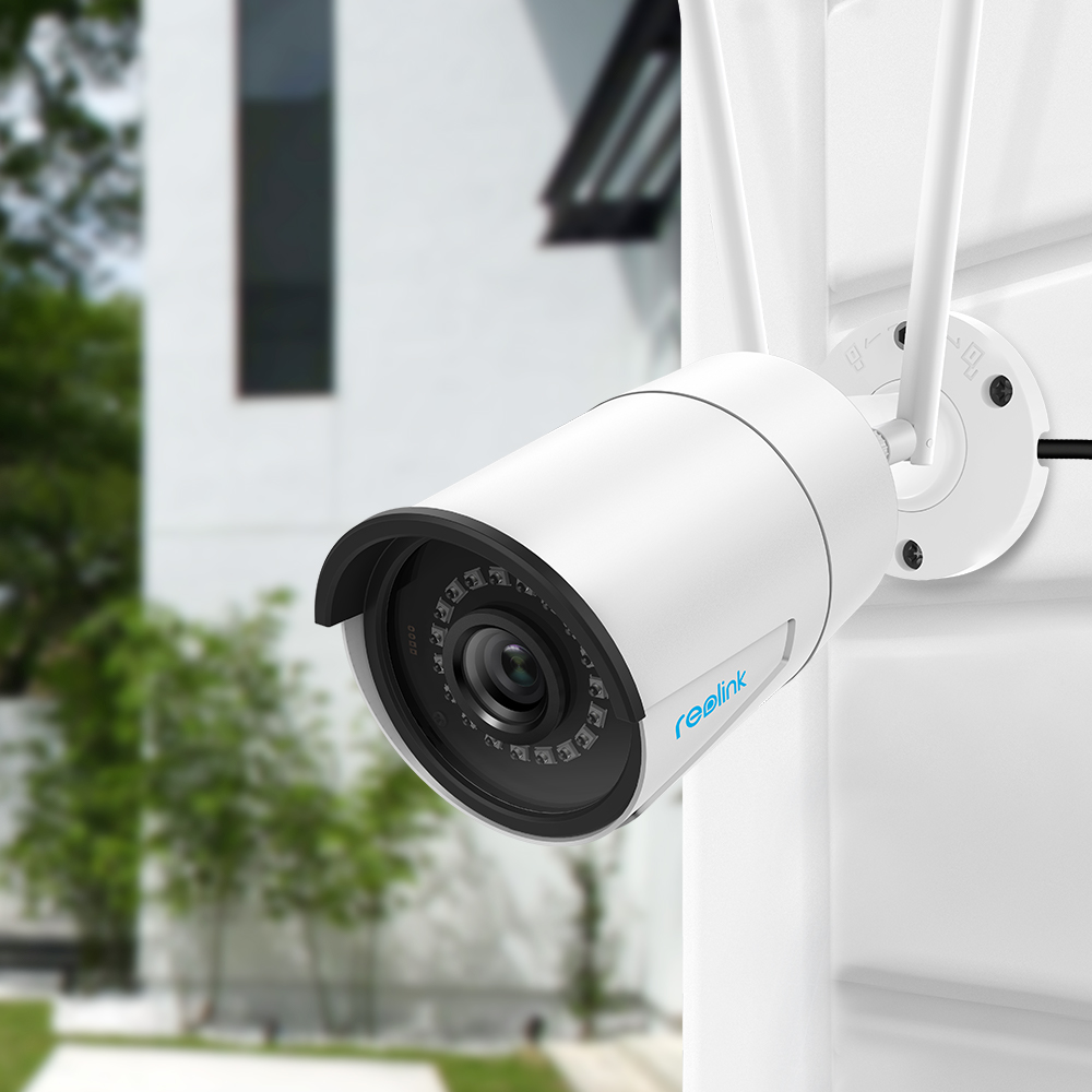 Image 2 - Reolink RLC 410W 4MP Dual WiFi 2.4G/5G Surveillance Outdoor Camera 2560 x 1440 HD IP Cam Wireless Weatherproof Security Camera-in Surveillance Cameras from Security & Protection
