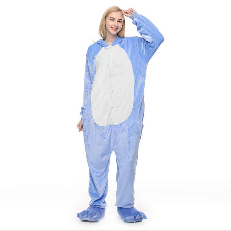 ... ZDFURS   животных стежка Единорог медведь Новый пижама в виде животного  для взрослых панда комбинезон для ... f0c401c0a32a1