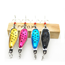 Fishing spoon 10g 52mm metal lures bass carp ice fishing lure isca artificial baits winter tackles wobbler leurre peche