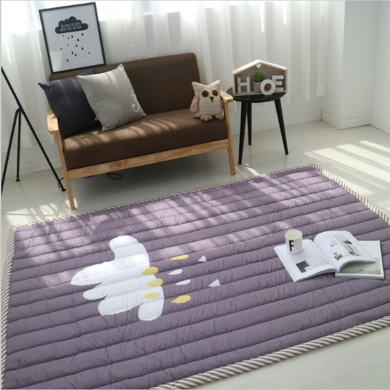 1402003cm thickness baby play mat children carpet machine washable rugs for living - Washable Rugs