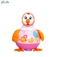 치킨 댄스 장난감 전기 장난감 유니버설 음악과 어린이 1-3 세 아기 동물