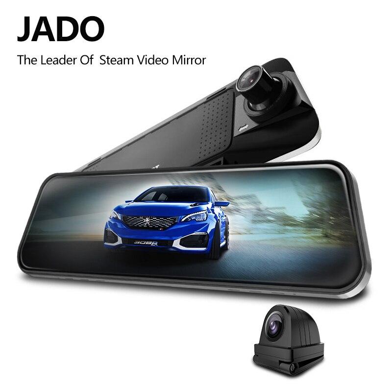 JADO Car Dvr Rearview-Mirror-Dvr Dash-Cam Stream D230x1 Night-Vision Touch-Screen 1080P