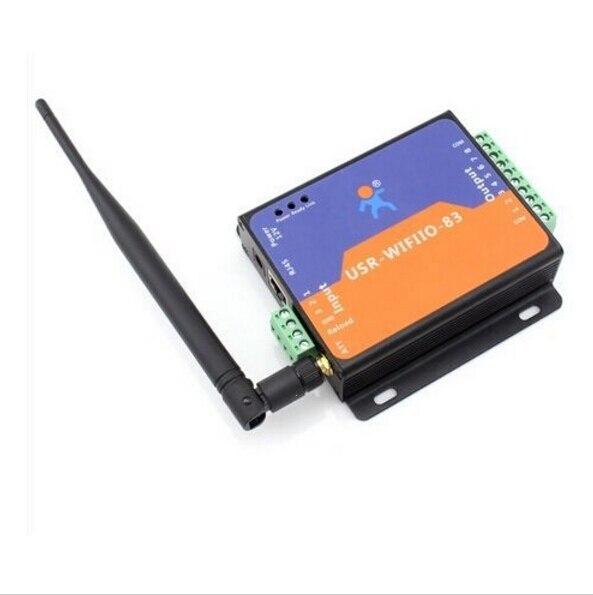 ФОТО Q00211-2 2 Piece USR-WIFIIO-83 8 Output Wifi Remote Control Relay DC 12V Power + FreePost