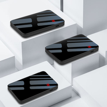 Thin Mirror Screen Mini Power Bank 8000mAh 3 in1 Built-in Line Portable Charger Fast Charging Powerbank for iphone xiaomi Huawei