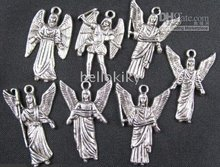 600 pcs 혼합 티벳 실버 날개 천사의 매력 freeship a1696