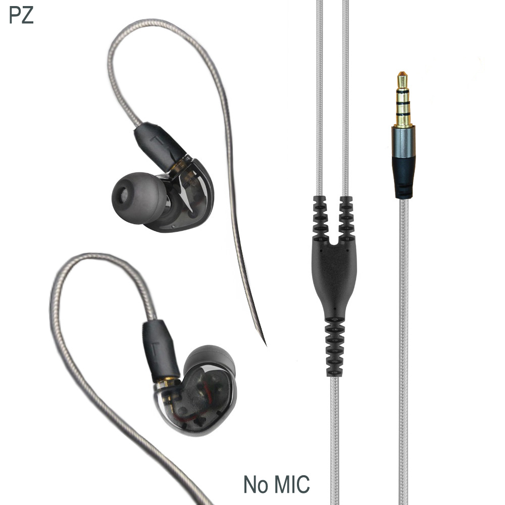 PIZEN C40 слушалки и слушалки с micophone ъпгрейд mmcx кабел за shure se215 se535 se846 срещу xiaomi хибридни про слушалки