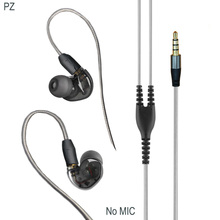 PIZEN C40 earphone and headphone with micophone improve mmcx cable for shure se215 se535 se846  vs xiaomi  hybrid professional earphone