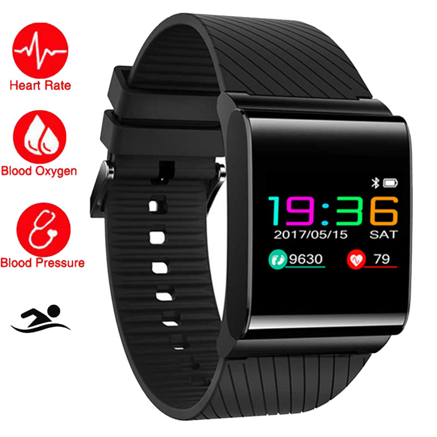 Cool Color S Body Swim Smart Watch Metal HR Heart Rate/Blood Pressure Monitor Cardiaco Health Smartwatch For Apple/Xiaomi/Sony