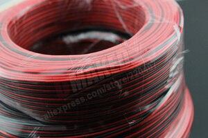 Image 5 - נחושת 16AWG, 2 פין אדום שחור כבל, PVC מבודד חוט, 16 awg חוט, חשמלי כבל, LED כבל, DIY להתחבר, להאריך חוט כבל