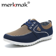Купить с кэшбэком 2015 new brand canvas casual men shoes british loafers sneakers mens masculino running driving shoes men's flat shoes size 39-44