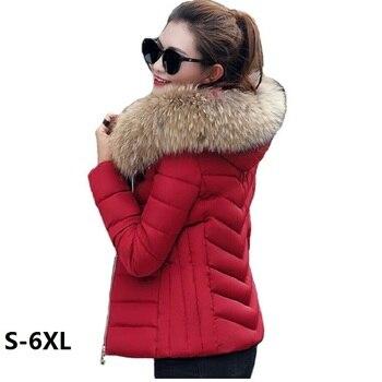 Kadın Ceket Yeni Sıcak Kış Ceket Kadınlar Yüksek Kalite 2019 Moda Artı Boyutu Sıcak Kış Ceket Bayan Parkı kadın kışlık Mont