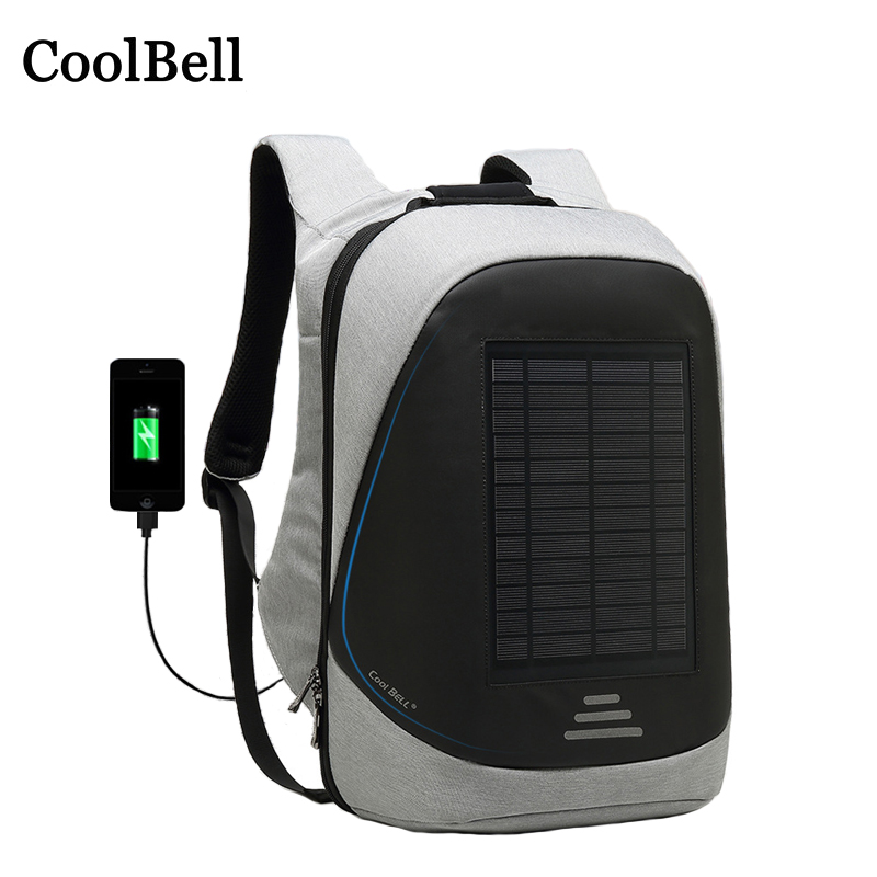 Nylon Laptop Bag USB Solar Charging Backpack 14 15 15.6 For Macbook Asus Dell Lenovo Xiaomi Samsung Men Travel Waterproof BagsNylon Laptop Bag USB Solar Charging Backpack 14 15 15.6 For Macbook Asus Dell Lenovo Xiaomi Samsung Men Travel Waterproof Bags