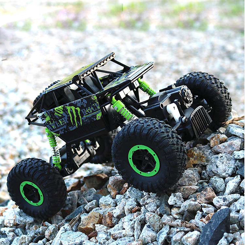 1:16 4WD High speed RC Cars 2.4G Radio Control 26cm RC Cars Toys Buggy High speed Trucks Off-Road Trucks Model Toys for Children цена 2017