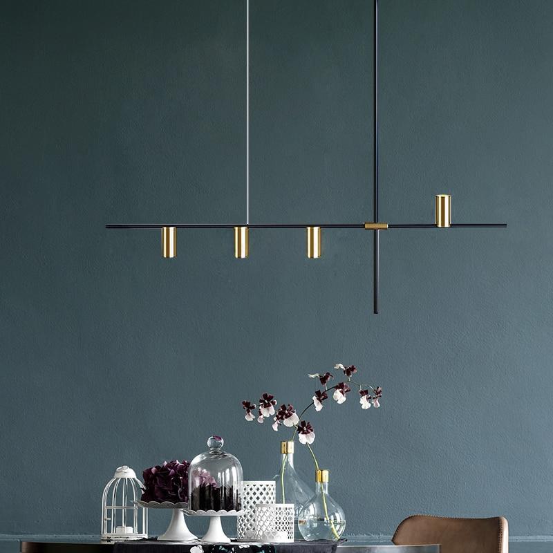 Best Seller Nordic Modern Gold LED Pendant Lights bedroom dinning ...