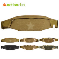 Actuinclub Outdoor Sport Waist Bag Tactical Men Women Running Packet Military Digital Package For Phone Gym