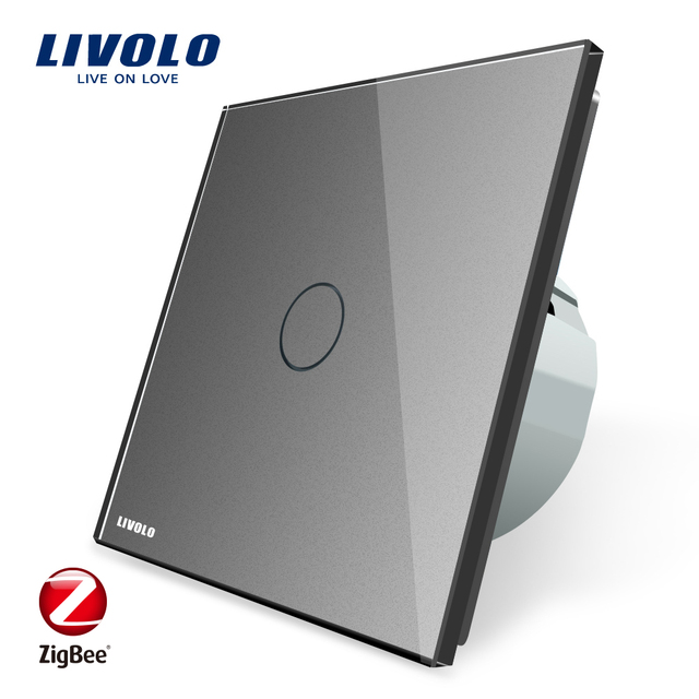 Livolo est ndar de la UE Zigbee Smart pared Interruptor t ctil WiFi APP Control google
