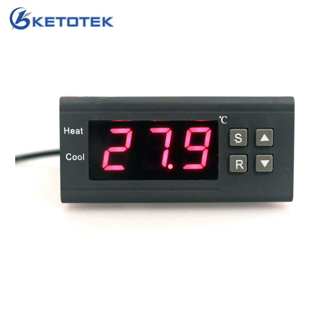 220V 10A/30A Egg Thermostat Incubator Farming High Accuracy Thermostat Regulator Temperature Controller цена
