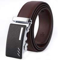 2016 Fashion Hot Sale Men Automatic Buckle Belts Leather Waist Strap Belt Luxury Business Formal Waistband