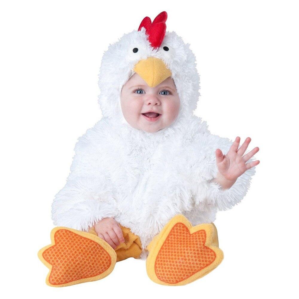 Peuter Halloween.Unisex Baby Kip Halloween Romper Peuter Kostuum Animal Kostuums