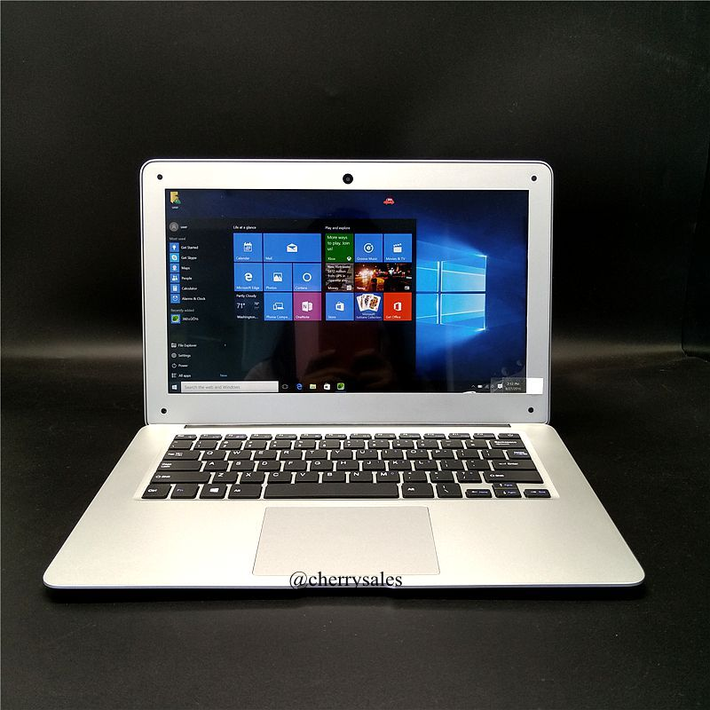 1920X1080 HD 13 3 inch Windows10 ultrathin Quad Core Fast Running Netbook laptop computer with bottom
