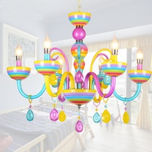 Детская комната подвесные светильники Гостиная Спальня ресторанов свечи модные бары магазин одежды красочным лампы za912608