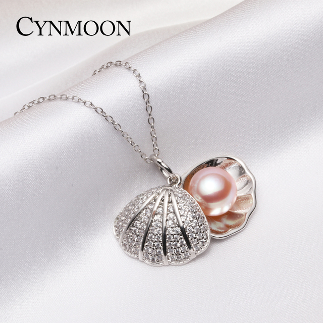 Women fashion white 8mm pearl pendant silver pearl jewelry natural women fashion white 8mm pearl pendant silver pearl jewelry natural freshwater pearl choker pendant necklace with aloadofball Images