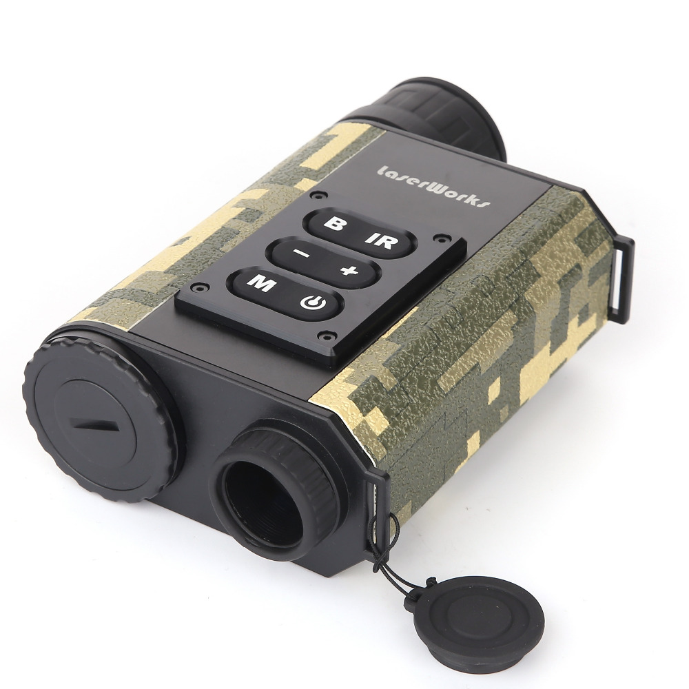 Mutifuctional 6X32 CCD Digital Night Visions Infrared IR Monocular Scope Scout Laser Rangefinders for Hunting Camera dhl shipping infrared digital night vision monocular scope 5x40 for 200meter zoom 5x ir 5mp digital camera video in ccd