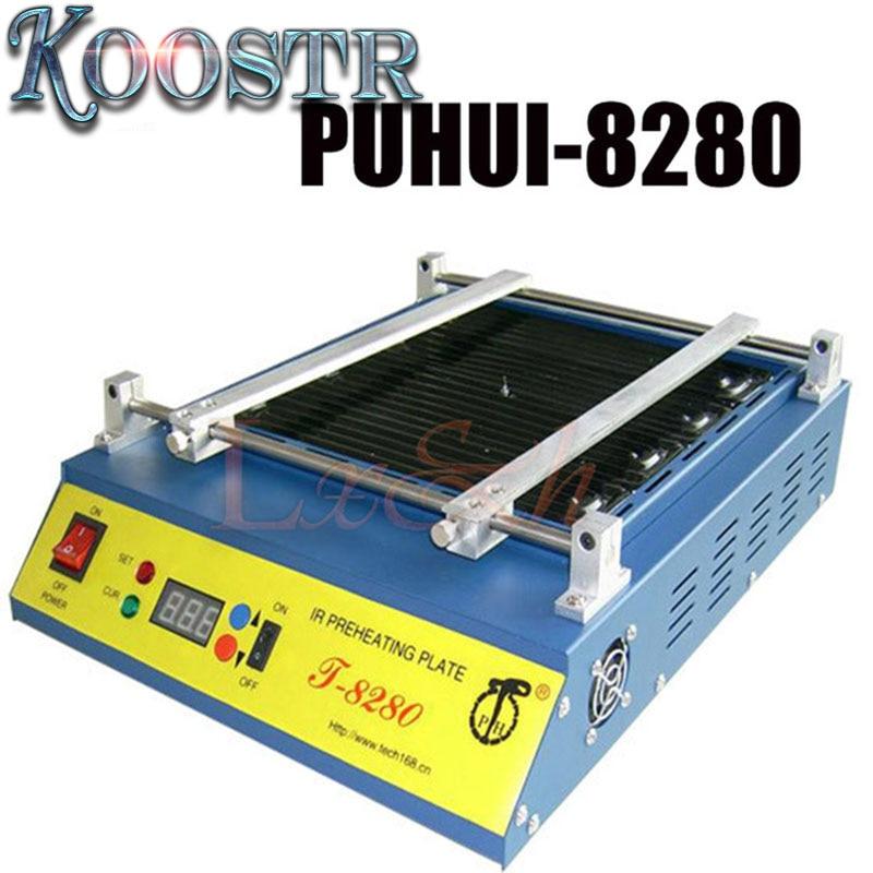 IR Solder Station220 110V Puhui T8280 T 8280 T 8280 PCB Preheater SMD Rework Station