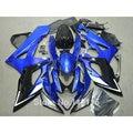 CALIENTE Inyección kit de carenado para SUZUKI gsxr1000 K5 K6 GSX-R 2005 2006 azul conjunto motobike GSXR1000 05 06 carenados de plástico negro SL77