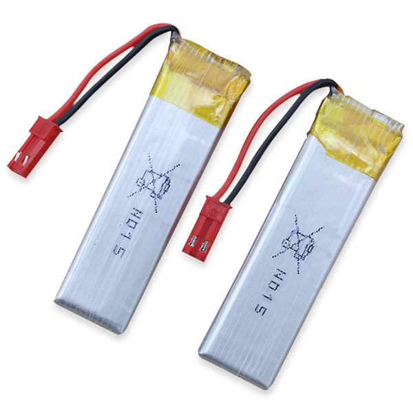 2pcs Lipo Battery 3.7V 600mah 25C JST Plug for Syma S032G 817A 818A WL V959 RC Helicopter Quadcopter Drone Part wl v911 black remoter controller motor battery upgrades accessories for wl v911 parts free shipping