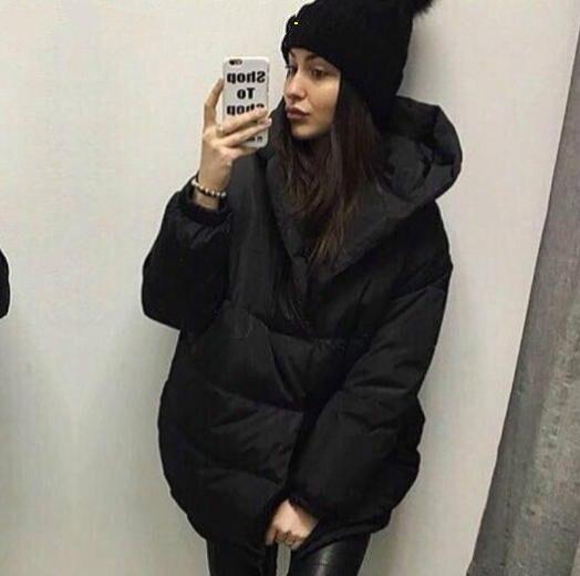 Украина Бросился С Ограниченной Хлопка С Длинным Твердые Однобортный Широкий талией 2016 Женщин Зимнее Пальто Мода Пальто Толстые Теплые Женщина