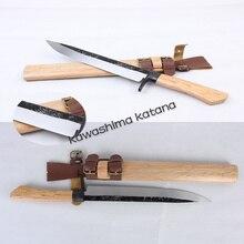 Handmade Samurai Sword Katana Tanto Full Tang Sharp Edge Hunter Knife Carbon Steel