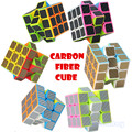 Z-cube 3x3x3 Magic Cube Professional Square Speed Neo Cube with Black Carbon Fiber Sticker Cubo Magico for Kids Educational Toys