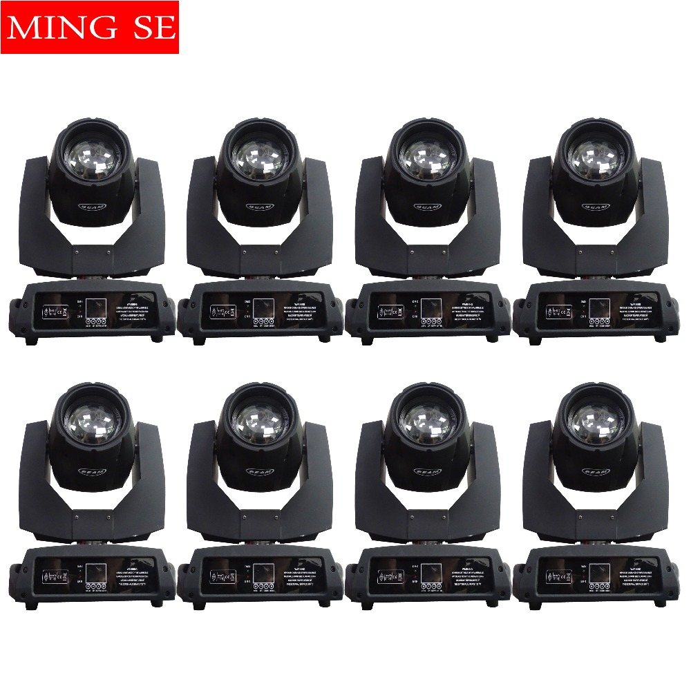 8Pcs 230w 7r Beam Light Or 4Pcs Flight Case DMX512 Control Moving Head Lights Professional Stage Party Stage Lighting Effect