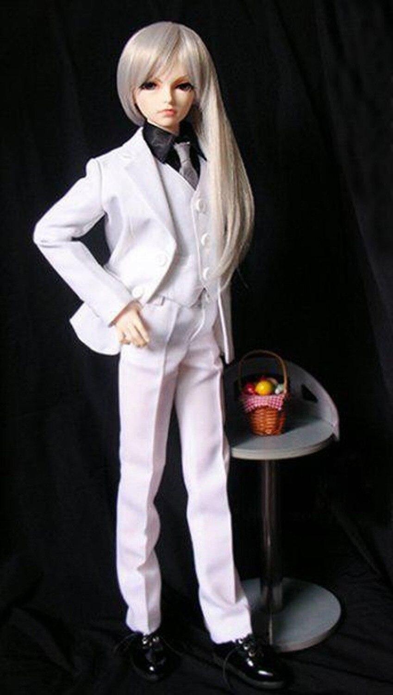 [wamami] 511# White Suit 5pcs SD DOD 1/3 BJD Boy Dollfie аксессуары для кукол bjd off bjd 1 4 1 3 sd17 dod sd dz cw41