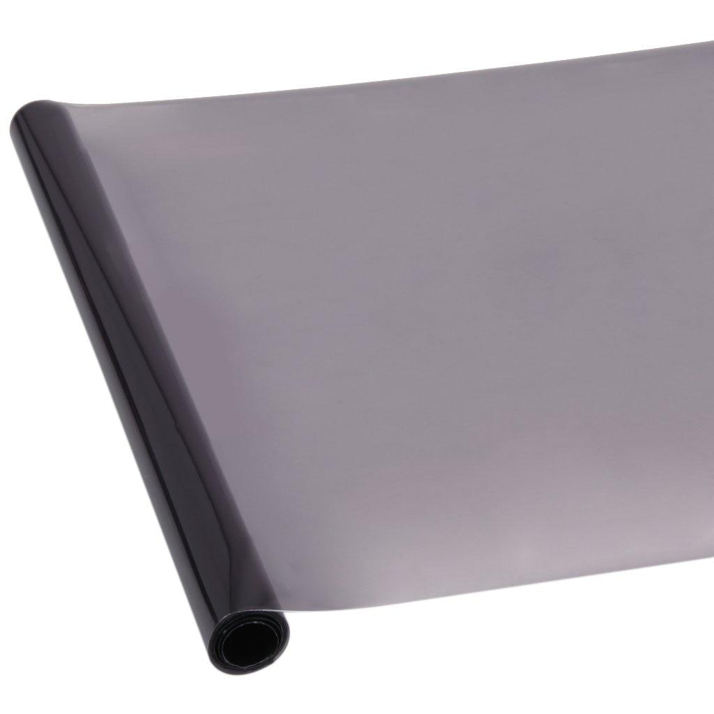 noir Int/érieur Aspect cuir synth/étique film de vinyle Contact papier autocollant Peel-stick PVC 24 x 78 roll