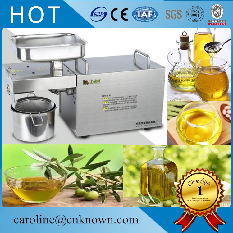 110v/220v Automatic Stable Operation Cold Press Olive Oil Press Machine For Sale