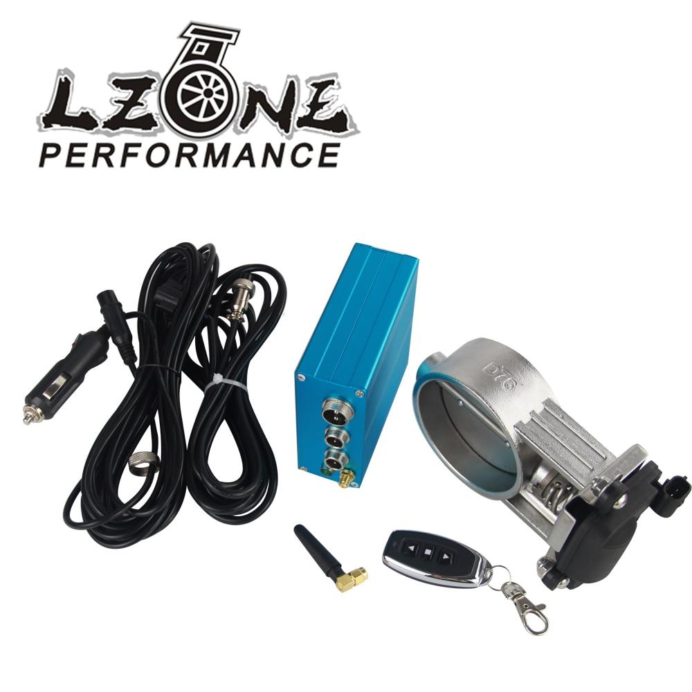 "3/"" 76mm Vacuum Exhaust Cutout E-Cut Electric Control Valve W// Pump Kit"