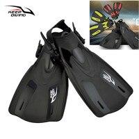 Promo Mantener buceo adulto snorkel las aletas de buceo natación Trek buzo profesional piscina pie aleta aletas de buceo aletas