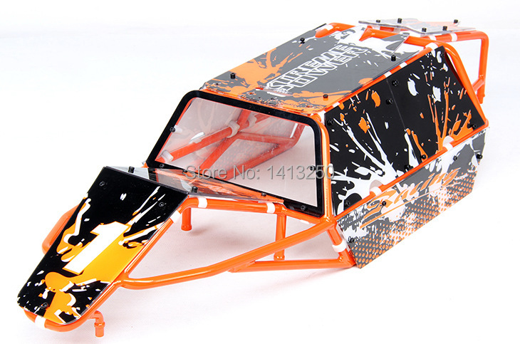 baja GT version  painting pig cage TS-H85230 for baja parts, blue  and orange choose ,free shipping. baja gt pig cage spotlights set ts h85232 for baja parts black orange and blue choose with free shipping