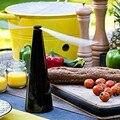 Picknick im freien Mückenschutz Fan Hält Fliegen Und Bugs Weg Von Ihrem Lebensmittel Und Genießt Outdoor Dining Mückenschutz Fans