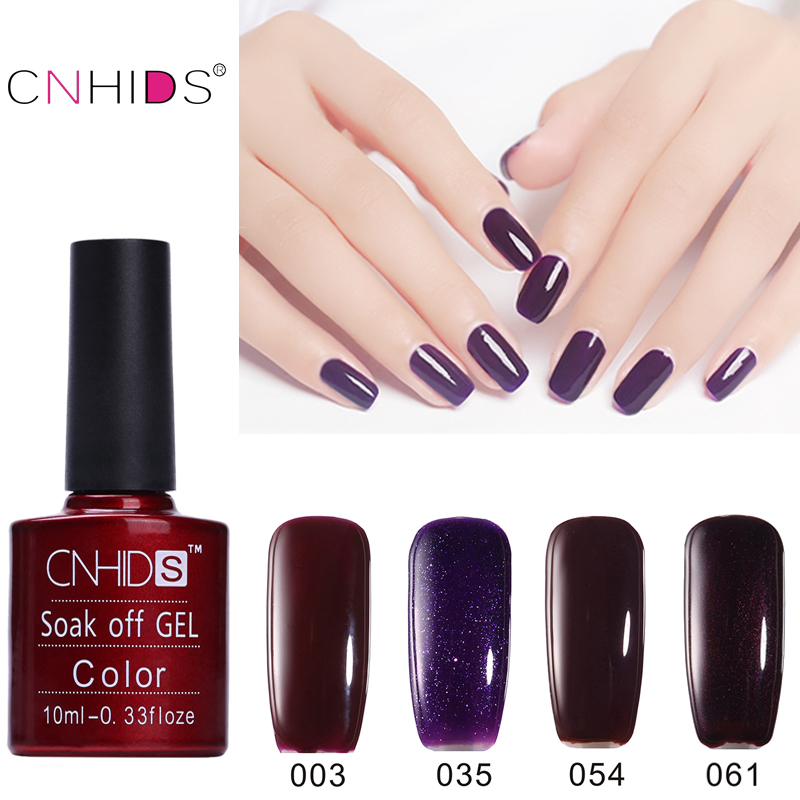 cnhids best selling 7 5 ml uv gel nail polish color nail gel polish vernis semi permanent nail. Black Bedroom Furniture Sets. Home Design Ideas