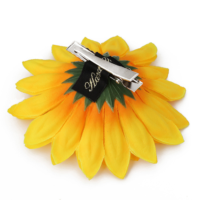Sweet Sunflowers Hair Clips Women Girls Seaside Barrettes Headwear Hairpins for Holiday Hair Accessories in Women 39 s Hair Accessories from Apparel Accessories